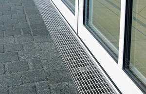 Barrierefreier Übergang Eingang Terrasse