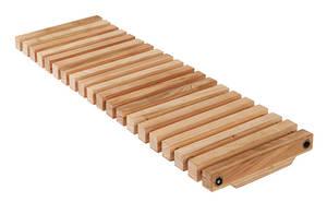 Rinnenabdeckung aus Holz Terrassen Sauna Hotel