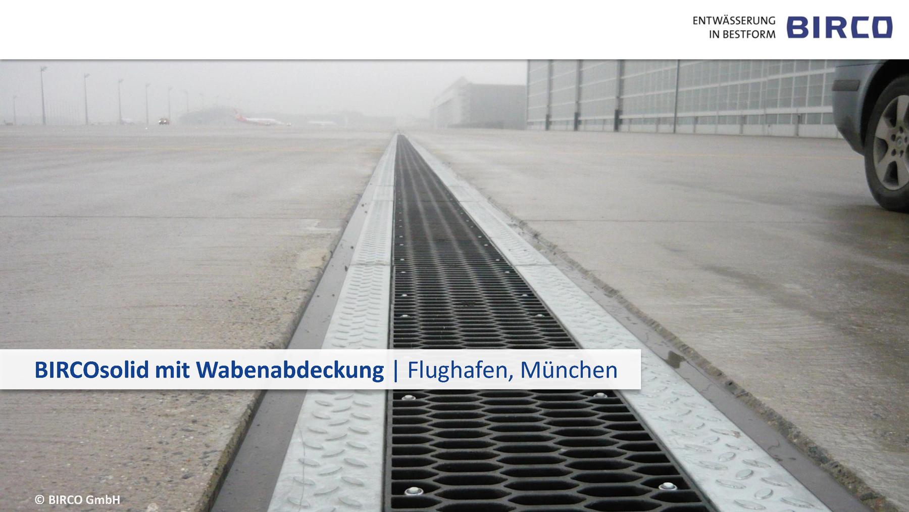Referenzen BIRCOsolid Kastenrinne   BIRCO GmbH