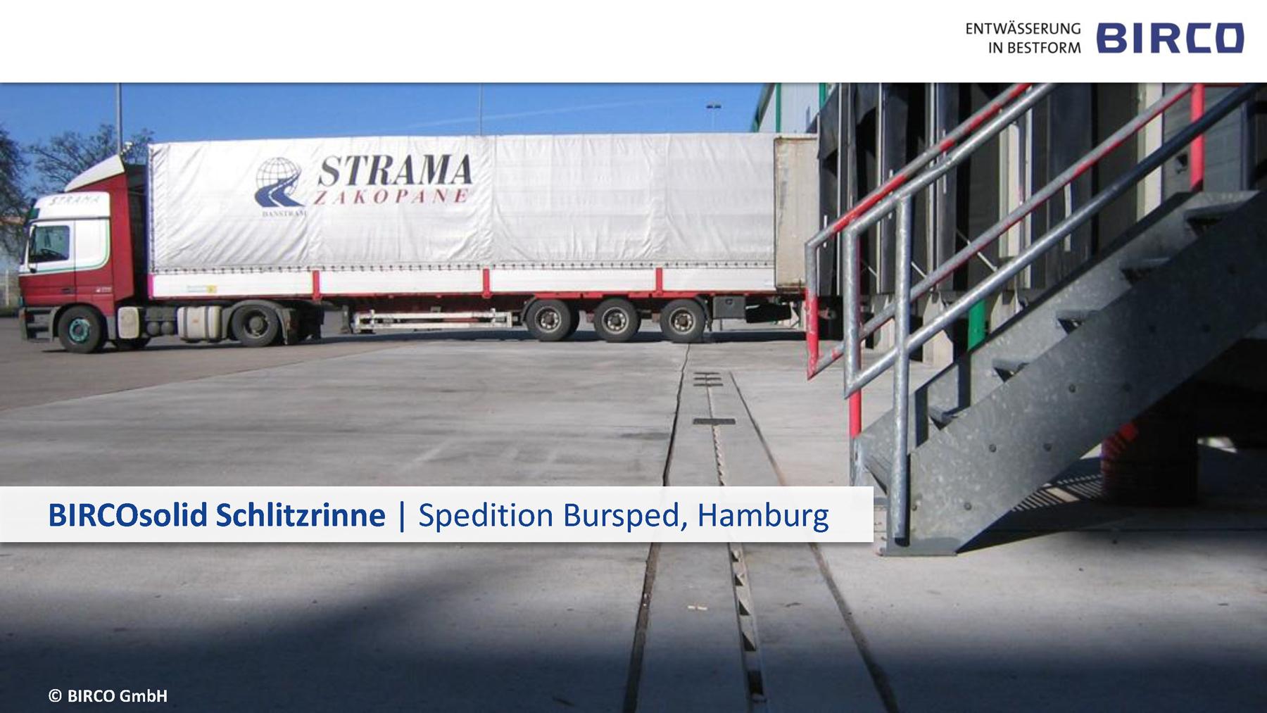 Referenzen BIRCOsolid Schlitzrinnen   BIRCO GmbH