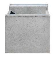 BIRCOlight Fassadenentwässerung Nennweite 100 Sinkkasten für Fassaden
