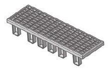 BIRCOlight Fassadenentwässerung Nennweite 100 Fassaden - Gitterrost