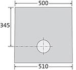 BIRCOplus Nennweite 100 Sinkkästen Liniensinkkasten I 1-teilig