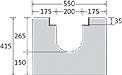 BIRCOsolid Kastenrinne Nennweite 200 Rinnen Rinnen ohne Innengefälle