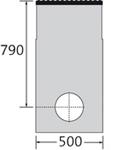 BIRCOmassiv Nennweite 200 Sinkkästen Liniensinkkasten I 1-teilig I mit einteiligem feuerverzinkten Oberflächenschutz