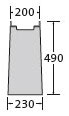 BIRCOsir Nennweite 100 Sinkkästen Liniensinkkasten