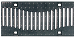 BIRCOsir – kleine Nennweiten Nennweite 150 Abdeckungen Design-Gussabdeckung 'Welle'
