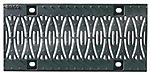 BIRCOsir – kleine Nennweiten Nennweite 150 Abdeckungen Design-Gussabdeckung 'Ellipse'