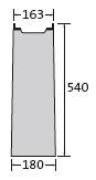 BIRCOlight Nennweite 100 AS Sinkkästen Liniensinkkasten I 1-teilig