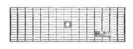 BIRCOlight Nennweite 100 AS Abdeckungen Gitterroste mit Flachrandeinfassung Rutschhemmklasse R11/V10