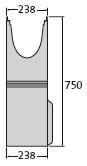 BIRCO Filcoten BIRCO Filcoten pro NW 200 Sinkkästen Liniensinkkasten mit verzinkter Zarge