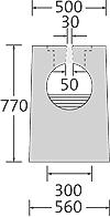 BIRCOsolid SR Pfuhler System Z Typ K DN 300 Rinnen Schlitzrinnen mit 0.5% Innengefälle Klasse D 400. feuerverzinkte Combi-VerschlussMassivstahlzarge
