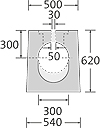 BIRCOsolid SR Pfuhler System Z Typ K Profil 300/400 Rinnen Schlitzrinnen mit 0.5 % Innengefälle