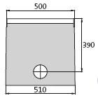 BIRCOprotect Nennweite 100 Sinkkästen Liniensinkkasten mit PEHD-Rohrstutzen
