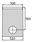 BIRCOprotect Nennweite 200 Sinkkästen Liniensinkkasten mit PEHD-Rohrstutzen