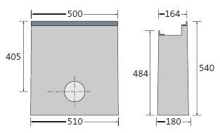 BIRCOlight Fassadenentwässerung Nennweite 100 Sinkkasten für Fassaden BIRCOlight NW 100 | Sinkkasten für Fassaden