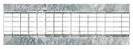 BIRCOtop Serie F mit Sichtsteg 130 (Außenbreite) Abdeckungen Gitterroste I Klemmrost