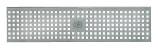 BIRCOtop Serie F ohne Sichtsteg 100 (Außenbreite) Abdeckungen Lochroste I Quadratloch