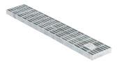 BIRCOtop Serie F ohne Sichtsteg 100 (Außenbreite) Abdeckungen Gitterroste I MW 30/10