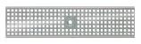 BIRCOtop Serie F ohne Sichtsteg 130 (Außenbreite) Abdeckungen Lochroste I Quadratloch