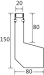 BIRCOtop Serie S Schlitzrinnen Rinnen Rinnenelemente I asymetrisch