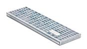 BIRCOtop Serie F ohne Sichtsteg 160 (Außenbreite) Abdeckungen Gitterroste I MW 30/10