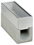 BIRCOschlitzaufsätze Nennweite 100 Schlitzaufsätze Spülkastenaufsätze I 2-teilig I Materialstärke 1.5 mm