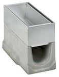 BIRCOschlitzaufsätze Nennweite 150 AS Schlitzaufsätze Spülkastenaufsätze I 2-teilig I Materialstärke 1.5 mm