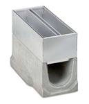 BIRCOschlitzaufsätze Nennweite 150 AS Schlitzaufsätze Spülkastenaufsätze I 2-teilig I Materialstärke 4 mm