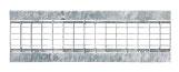 BIRCOtop Serie F mit Sichtsteg 160 (Außenbreite) Abdeckungen Gitterroste I Klemmrost I MW 30/10 und MW 30/16