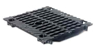BIRCOsolid Kastenrinne Nennweite 150 Abdeckungen Doppelsteg-Gussabdeckungen mit Schlüsseldurchführung