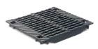 BIRCOsolid Kastenrinne Nennweite 200 Abdeckungen Doppelsteg-Gussabdeckungen mit Schlüsseldurchführung