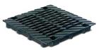 BIRCOdicht Punktentwässerung ohne Nennweite Abdeckungen Doppelsteg-Gussabdeckung für Punktentwässerung 40/40. schwarz-tauchlackiert