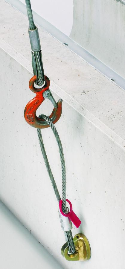 BIRCOsolid Kastenrinne Nennweite 300 Zubehör Aufhänger RD 16 für Rinnen und Sinkkästen von außen montierbar